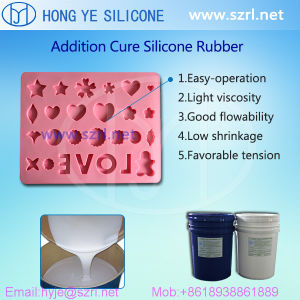 Liquid Silicone Rubber for Fondant Chocolate Decoration Mold pictures & photos