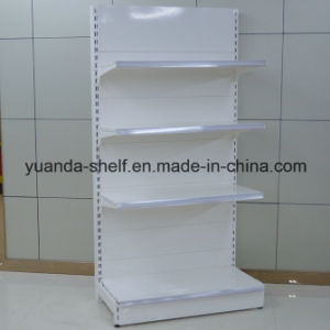 Metal Single Face Common Display Storage Wall Shelf for Supermarket pictures & photos