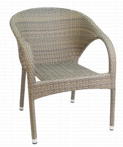 Stacking Outdoor Garden Wicker/Rattan Chair (RC-06015) pictures & photos