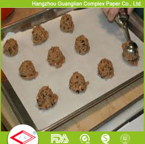 Coated Virgin Wood Pulp Parchment Paper Baking Tray Lining Sheet pictures & photos