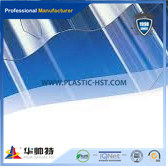 High Quality Building Material Transparent PC Currugated Sheet for Roofing pictures & photos