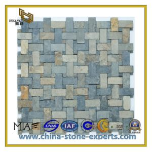 Mixed Color Granite Marble Mosaic Tiles for Flooring/Wall (YQC) pictures & photos