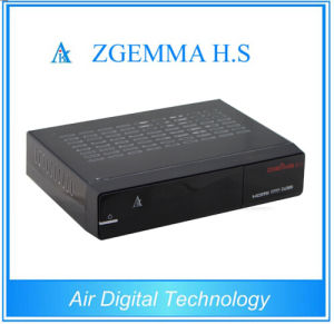 Dual Core Zgemma H. S DVB-S2 Satellite TV Box with 8GB SD Card for Free pictures & photos