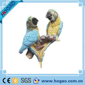 Animal Statue Two Pretty Parrot Home Decor pictures & photos