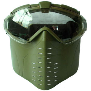Airsoft PRO-Goggle Full Face Mask with Fan System pictures & photos