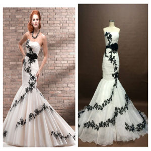 New Design a Pure Line Avalorios Embellished Evening Dress pictures & photos