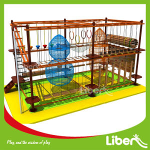 Indoor Playground Attractions Climbing Adventure Indoor Ropes Challenge Course pictures & photos