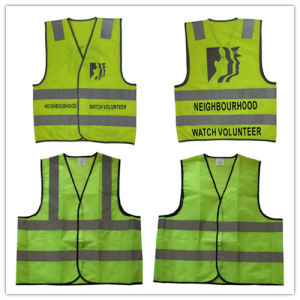 Yellow High Visibility Reflective Safety Vest / Warning Vest pictures & photos