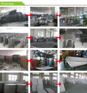 Plastic Banquet Folding Table and Chairs, 6FT Round Table, Catering Table pictures & photos