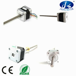 NEMA17 Hybrid Lead Screw Stepper Motor pictures & photos