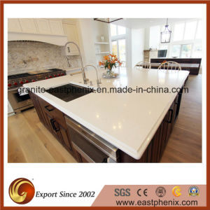 Artificial Stone White Kitchen Stone Bench Top/Countertop pictures & photos