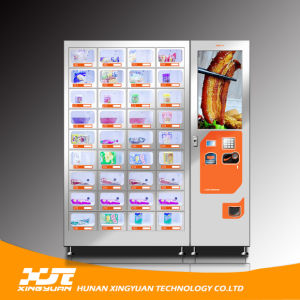Hot Foods Machines! Vending Machines for Pizza/Fast Food/Lunch Box pictures & photos
