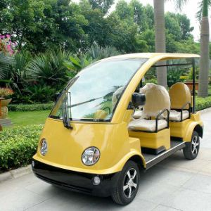 CE Approved 4 Seater Electric Rechargeable Travel Car Dn-4 pictures & photos