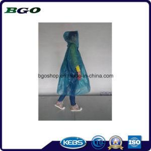 Nontoxic Soft Thin Cover Raincoat PEVA Film pictures & photos