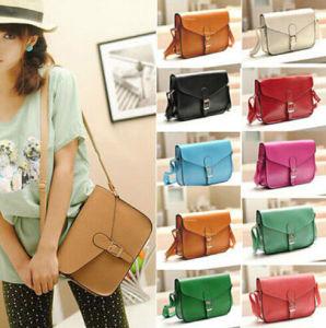 Fashion Women′s PU Leather Satchel Shoulder Messenger Bag Handbag pictures & photos
