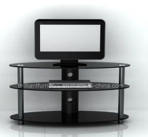 Glass Home Furniture Modern LCD TV Table Stand (BR-TV234)