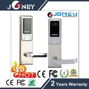 Standard Mortise Stainless Steel Intelligent Electronic RFID Hotel Door Lock pictures & photos