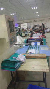 Second Hand Automatic Three Side Sealing LDPE Express Bag Making Machinery pictures & photos