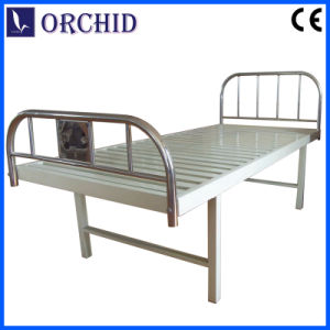 Flat Bed with Stainless Steel Head and Foot Board (BCP03-I)