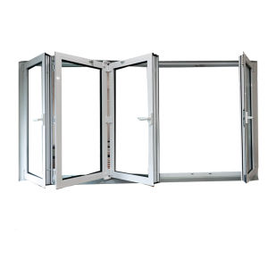 Aluminum Folding Window with Insulated Impact Rated Glass pictures & photos