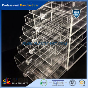Hot Selling Wholesale Acrylic Cosmetic Makeup Organizer with Drawers pictures & photos