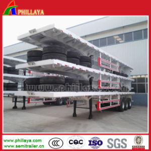 Phillaya 3 Axle Container Semi Trailer / Container Trailer pictures & photos