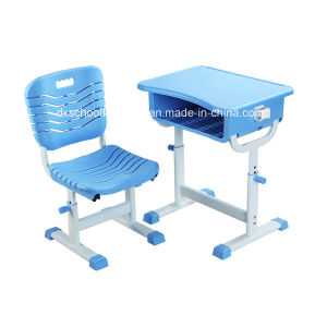 Plastic School Furniture Sets Classroom Table Student Chair (K025A+KZ11A) pictures & photos