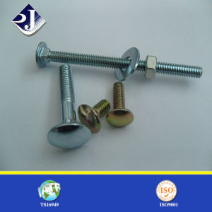 RoHS Fasteners DIN603 Galvanized Carbon Steel Carriage Bolt pictures & photos