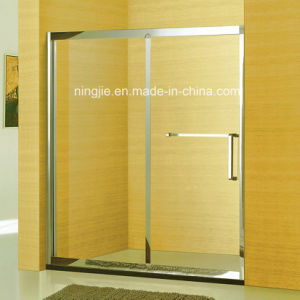 Family Bathroom One Fixed One Sliding Shower Screen (A-8941B) pictures & photos