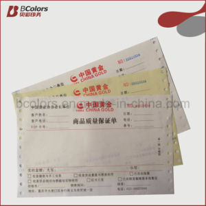 OEM Invoice Book, Carbon Paper Receipt Bookprinting with Fast Delivery Time pictures & photos