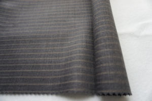 Stripe Wool Fabric of 100% Wool pictures & photos