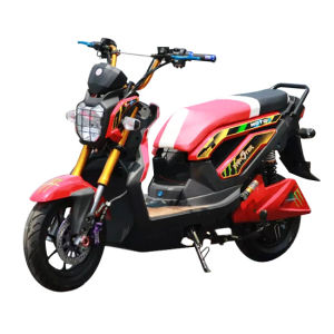 1200W Brushless Motor Electric Motorcycle (EM-007) pictures & photos
