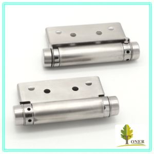 Stainless Steel 201 Spring Hinge/ 3-Inch (2mm) Single Action Spring Hinge pictures & photos