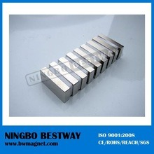 2X1X1 Inch Strong N50 N52 Super Neodymium Magnets Block pictures & photos