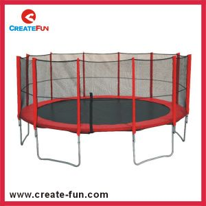 Createfun Professional 15ft Outdoor Trampoline with Safety Net