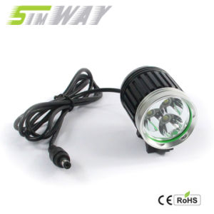3600lm IP65 T6 Highlight High Power LED Bicycle Light with CE RoHS