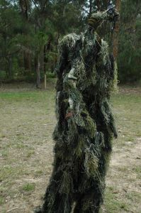 Kids Warrior Camo Ghillie Suit - Woodland