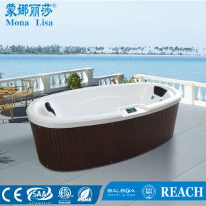 2 Person Acrylic Massage Elliptic SPA Big Tub (M-3360) pictures & photos