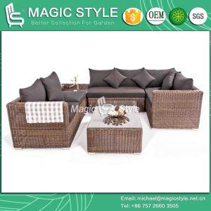 Patio Combination Sofa Set Outdoor Sofa Set Rattan Wicker Sofa Set (Magic Style0 pictures & photos