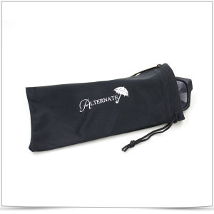 Promotional Microfiber Double Side Drawstring Sunglasses Pouch pictures & photos