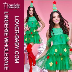 Adult Lady Christmas Tree Tutu Costume (L70936) pictures & photos