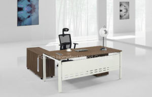 L Shaped Classic Design Luxury Executive Desk (HF-AA020) pictures & photos
