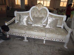 Luxury Star Hotel President Bedroom Furniture Sets/European Style Standard King Single Bedroom Furniture/Antique Style Bedroom Furniture (GLN-0101) pictures & photos