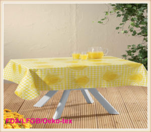 Printed Flannel PVC Table Cloth in Rolls pictures & photos