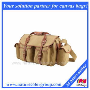 Camera Bag (Khaki with Tan Trim) pictures & photos