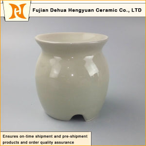 Colorful Glaze Porcelain Oil Diffuser with Tealight Candle pictures & photos