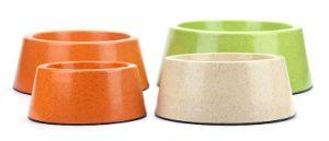 Natural Bamboo Pet Bowl, Dog Food Bowl pictures & photos