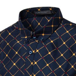 Mens Slim Fit Regular Button Dress Shirts (A436) pictures & photos