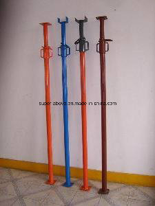 Adjustable Tubular Steel Shoring Prop Scaffolding for Construction pictures & photos