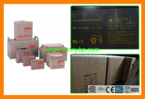 12V Solar Deep Cycle Battery for UPS System pictures & photos